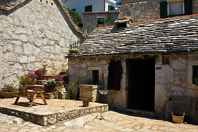 Photograph - Old Croatian Hamlet by Sally Weigand