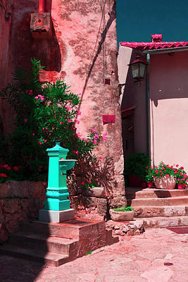 Photograph - Old Croatian Water Fountain by Sally Weigand