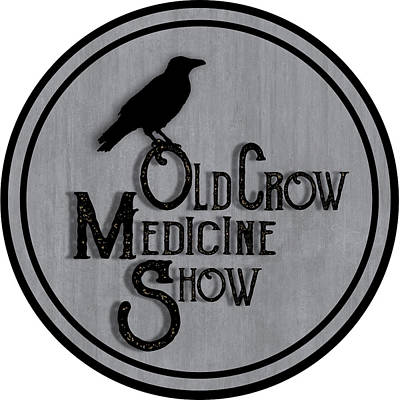 Crows Drawing - Old Crow Medicine Show Sign by Little Bunny Sunshine