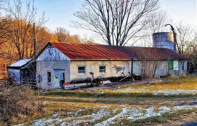 Photograph - Old Dairy Barn by Jim Harris