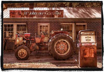 Old Days Vintage Art Print by Debra and Dave Vanderlaan
