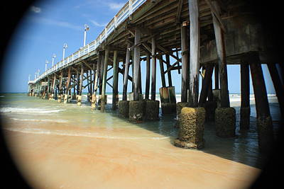 Photograph - Old Daytona Beach Pier Restaurant by Mandy Shupp