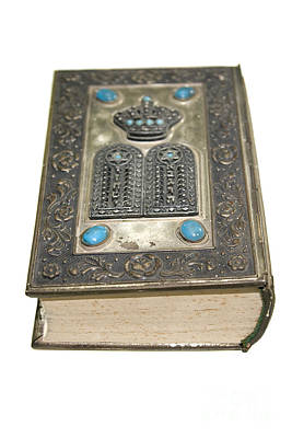 Judaica Photograph - Old Decorated Bible by Ilan Rosen