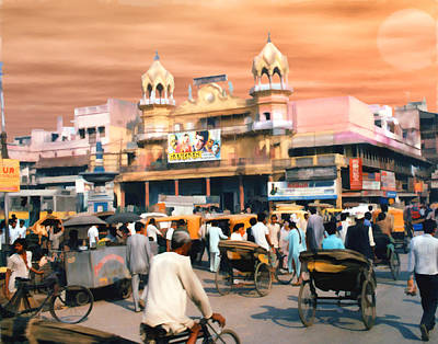 Old Dehli Art Print by Kurt Van Wagner