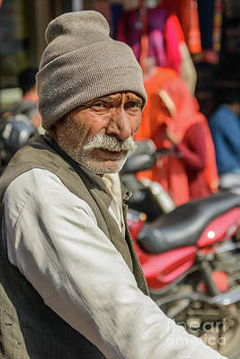 Photograph - Old Delhi From A Rickshaw 02 by Werner Padarin