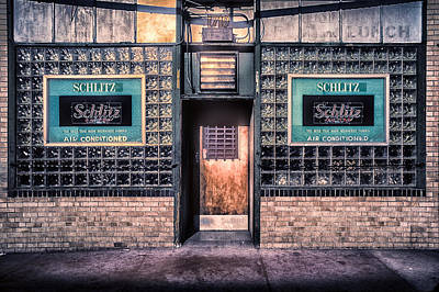 Photograph - Old Denver Bar Front Door by John Brink