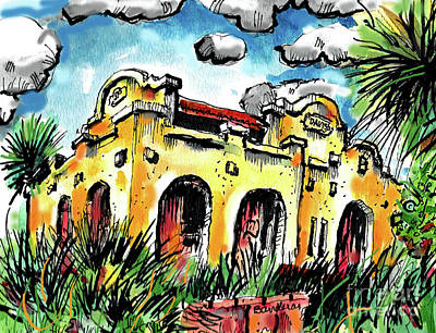Painting - Old Depot by Terry Banderas
