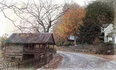 Photograph - Old Dial Road by Joe Duket
