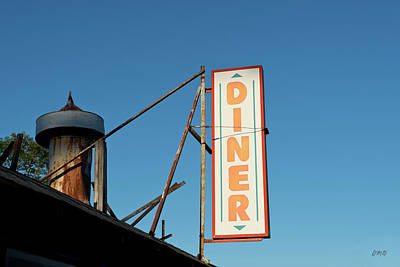 Photograph - Old Diner I Color by David Gordon
