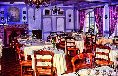Photograph - Old Dining Room by Rick Bragan