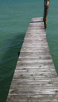Photograph - Old Dock 10 by Mary Bedy