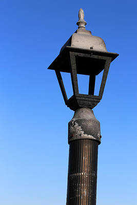 Photograph - Old Dock Light 5 by Mary Bedy