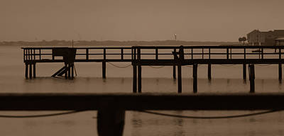 Photograph - Old Docks Of James Island by Donnie Whitaker