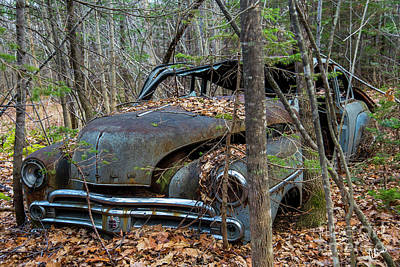 Photograph - Old Dodge Car by Alana Ranney