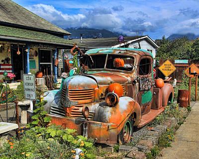 Photograph - Old Dodge by John Bushnell