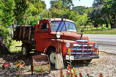Photograph - Old Dodge Truck by Savannah Gibbs