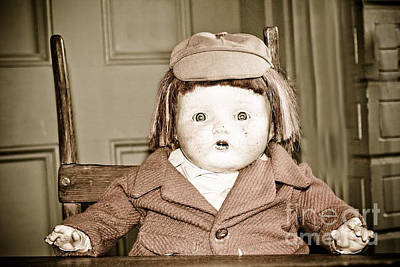 Photograph - Old Doll by Kim Henderson