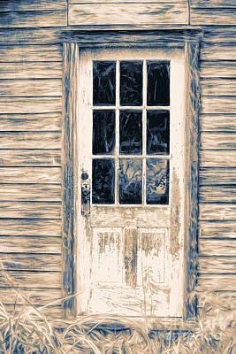 Old Door #2 Art Print