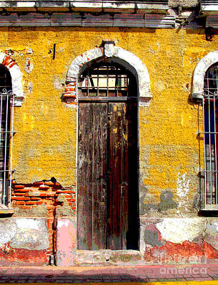 Old Door 2 By Darian Day Art Print by Mexicolors Art Photography