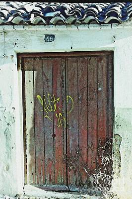 Photograph - Old Door In Alcantarilla by Sarah Loft