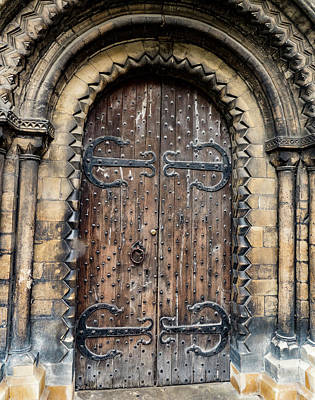 Photograph - Old Door by Jean Noren