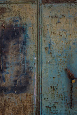 Photograph - Old Door by Jocelyn Kahawai
