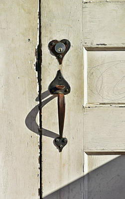 Photograph - Old Door Knob 3 by Joanne Coyle
