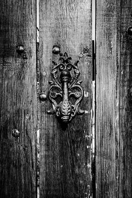 Antique Ironwork Photograph - Old Door Knob by Marco Oliveira