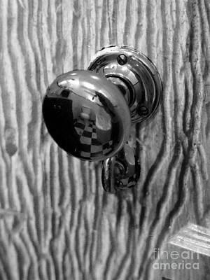 Photograph - Old Door Knob by Robert Ball