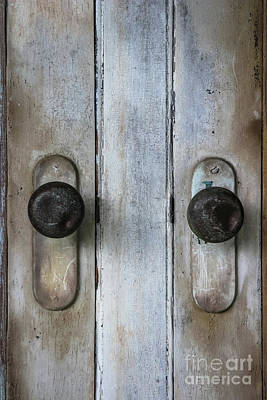 Photograph - Old Door Knobs by Colleen Kammerer