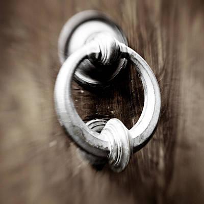 Photograph - old Door Knocker by Marilyn Hunt