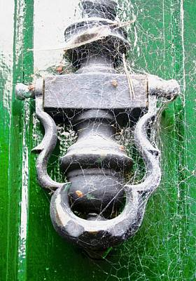 Photograph - Old Door Knocker by Stephanie Moore
