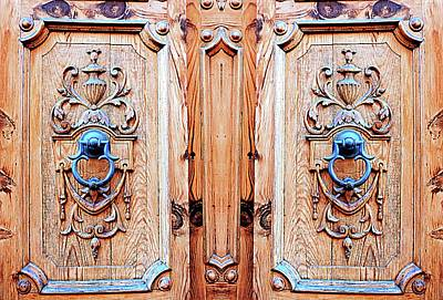 Photograph - Old Door Knockers by Dorothy Berry-Lound