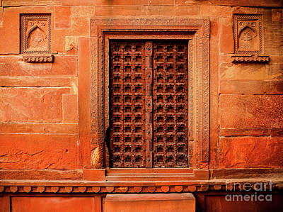 Photograph - Doors Of India - Old Fort Door by Miles Whittingham