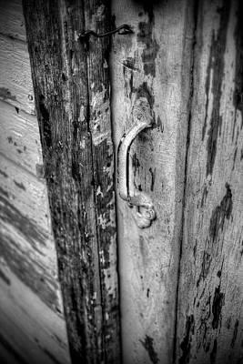 Digital Art - Old Door by Patrick Groleau