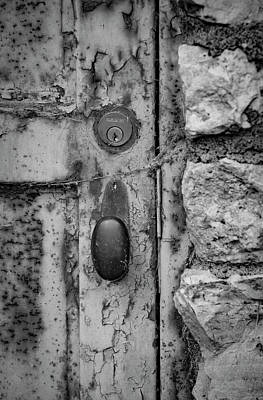 Photograph - Old Door by Ray Congrove