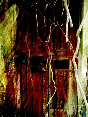 Old Door Set Four Art Print by Kathy Daxon