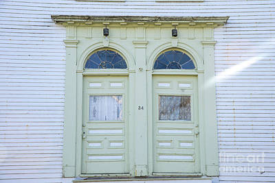 Photograph - Old Doors by Alana Ranney