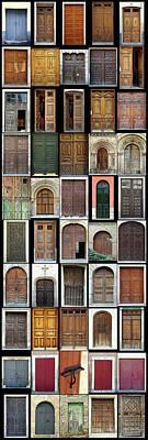 Photograph - Old Doors by Frank Tschakert