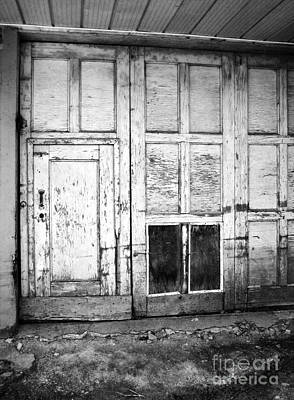 Photograph - Old Doors by Reb Frost