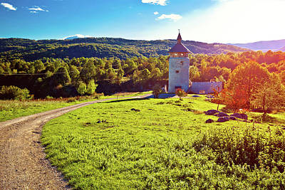 Photograph - Old Dreznik Town Ruins In Korana Canyon by Brch Photography