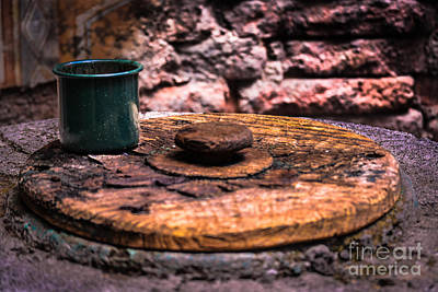 Old Drinking Cup Art Print