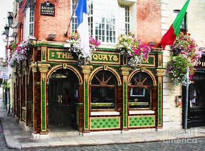 Photograph - Old Dublin Pubs # 2 by Mel Steinhauer