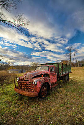 Photograph - Old Duck Farm Truck by Robert Seifert