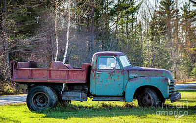 Photograph - Old Dump Truck by Alana Ranney