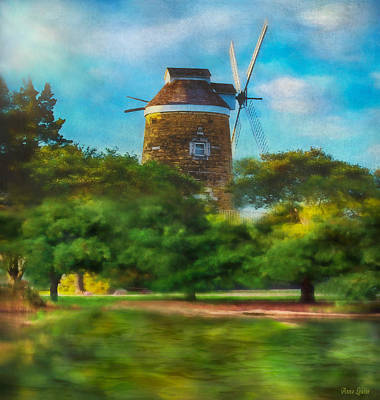 Photograph - Old Dutch Windmill by Anna Louise