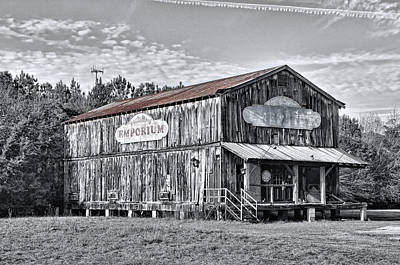 Photograph - Old Emporium Store by Scott Hansen