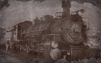 Photograph - Old Engine In Time by John Brink