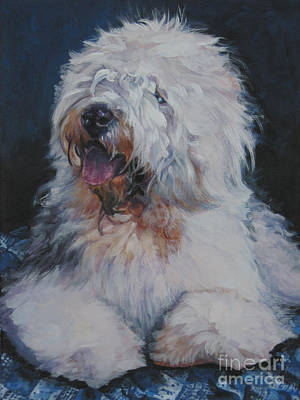 Painting - Old English Sheepdog by Lee Ann Shepard