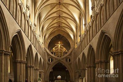 Heiko Koehrerwagner Photograph - Old English Style Cathedral by Heiko Koehrer-Wagner